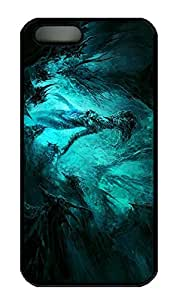 iPhone 5 Case, iPhone 5S Cases - Highly Protective Black Hard Case for iPhone 5/5s Tree Elf New Release Hard Back Case for iPhone 5/5S