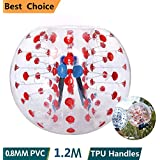 Fitness & Jogging Fitness-Kleingeräte & -Zubehör Yaekoo Pvc Transparent 5 Feet 1.5M Diameter Inflatable Bumper Ball Human Knocker