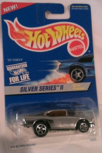 Mattel Hot Wheels Silver Series 2 3 of 4 57 Chevy - Series 422