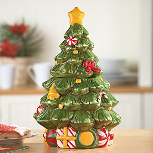 (Christmas Tree Cookie Jar)