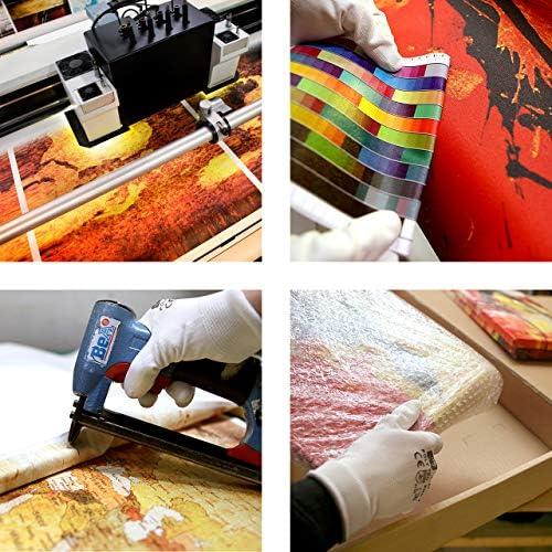 GUUTOP Sneakers Mode Cadeau Mur Art d/écoration Affiche Impression Toile Vie Maison 50 cm x 70 cm sans Cadre