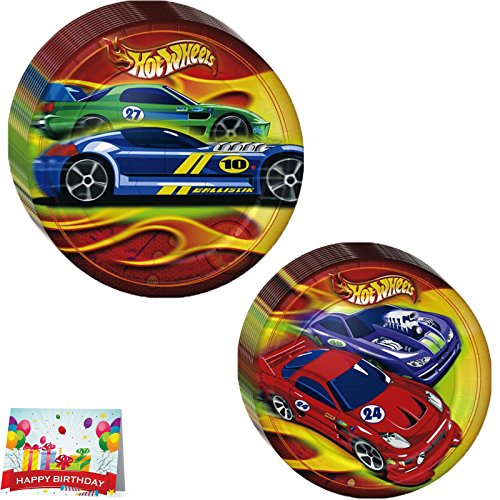 Hot Wheels Treat (Hot Wheels Lunch Plates and Dessert Plates)