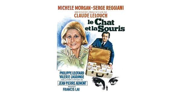 Le chat et la souris Michele Morgan movie poster print