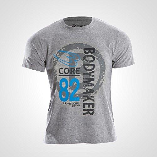 エミュレーション環境保護主義者起点ボディメーカー(BODYMAKER) カジュアルプリントTシャツ STREET3 MT172