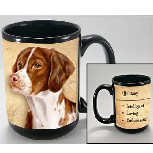 RITTANY COFFEE CUP MUG PET DOG GIFT (Brittany Cup)