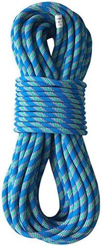 カラビナ付き安全ロープ付き8mmクライミングロープ、丈夫なリビング用ロープ、野外活動に最適,10m