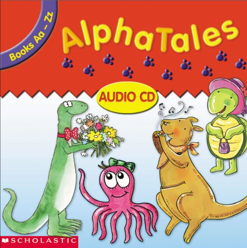 AlphaTales Audio CD: Double CD Set With All 26 Stories and Cheers!