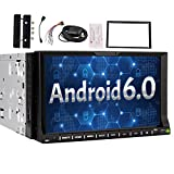7inch Android 6.0 Car Radio Stereo Double 2 Din CD DVD Player In Dash Bluetooth Radio GPS Navigation Sliding Multi-touch Screen Headunit USB SD 3G/4G WIFI OBD2 Mirror Link OBD DAB FM AM RDS