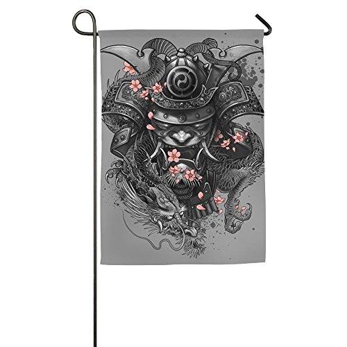 Devil Clipart (Japanese Devil Mask D¨¦cor 12 X 18 Prime Garden Flag Not Faded For Yard Garden Yard Flag)
