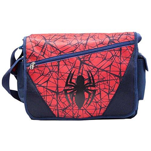 Official Marvel Comics The Ultimate Spider-Man Logo Messenger Shoulder Bag