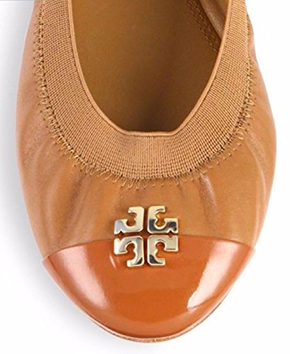 Tory Burch Jolie Ballet Flat Royal Tan
