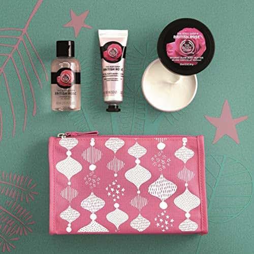 The Body Shop British Rose Beauty Bag