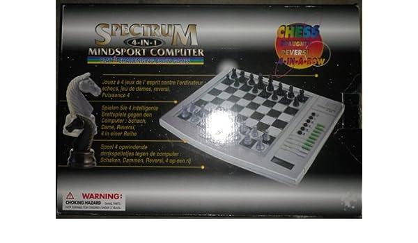 Amazon com: Spectrum 4~in~1 Mindsport Computer Chess Boxed