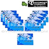 9 Packs TreeFrog FRESH BOX MINI (aka Xtreme Fresh Mini) Fresh Squash Scent Premium JDM Air Freshener