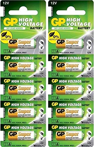 GP 23AE 12V Batteries (Pack of ()