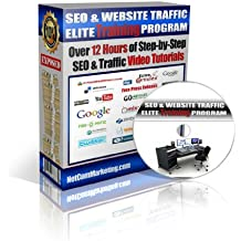 SEO & Website Traffic Elite Training Program - Over 12 Hours of Step By Step Video Tutorials That Show You How to Make Money Online Using Social Marketing, Affiliate Marketing, Video Marketing, Articel Marketing and Much More...