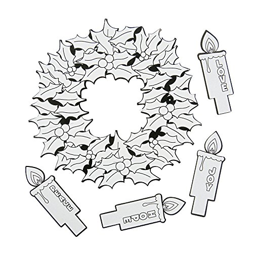 Color Your Own Advent