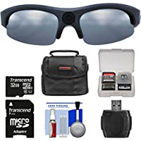 Coleman Vision HD G3HD-SUN 1080p HD Action Video Camera Camcorder Polarized Sunglasses with 32GB Card + Case + Reader + Kit