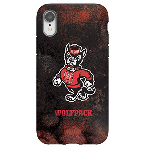(Tough Phone Case for iPhone XR - Protective iPhone Case with NC State Wolfpack Design)