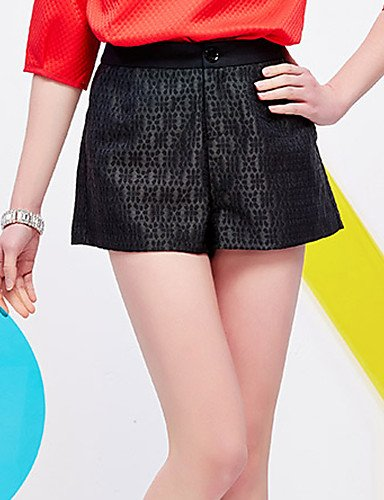 TT&KUZI Pantaloni da Donna Pantaloncini Vintage Cotone/Poliestere/Nylon Anelastico, XS