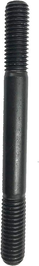Dble Thread Stud,Gr 8.8,M6x1x95mm,PK100