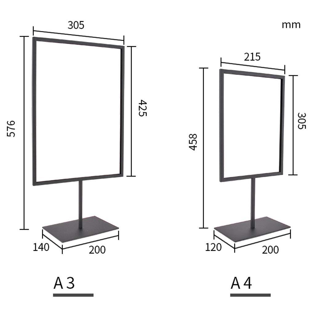 Amazon.com: LPYMX - Soporte para menú, tamaño A3, tamaño A4 ...
