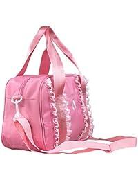 Girls Ballet Bag Dance Shoes Pattern Lace Handbag With...