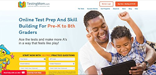 Fast Track Membership [Yearly Subscription] by TestingMom.com