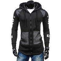 Fashion Men Winter Warm Splicing Leather Sweatshirt Coat Jacket Outwear Sweater