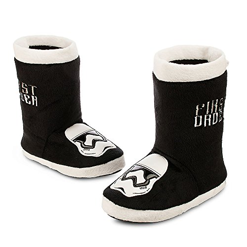 [Disney Kids Stormtrooper Plush Slippers - Star Wars: The Force Awakens (11/12)] (Stormtrooper Disney)