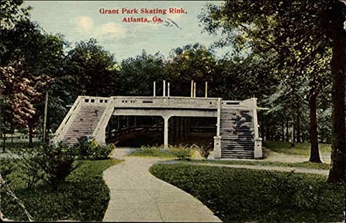 Amazon com: Grant Park Skating Rink Atlanta, Georgia Original