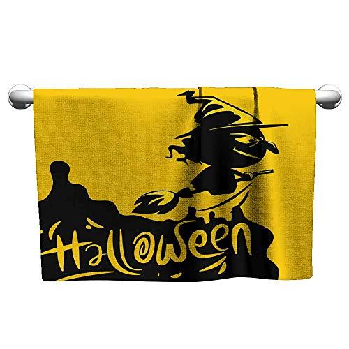 Andasrew Flowered Halloween Background design4,Hooded Towel for Toddler boy -