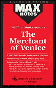 Book 'Merchant of Venice' (MaxNotes)