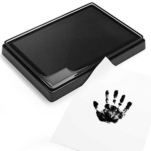 (Baby Safe Print Ink Pad, Non-Toxic Baby Footprint and Handprint Kit, Keepsake Gifts to Cherish Baby's Memories, Multiple Uses)