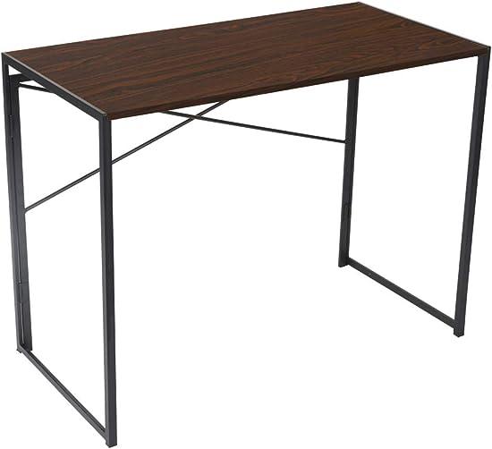 Folding Desk No-Assembly Foldable Office Computer Desk
