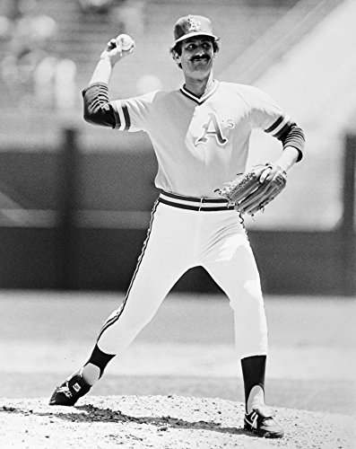 (Rollie Fingers (1946- ) Nroland Glen Fingers Known As Rollie American Baseball Pitcher Photographed As A Member Of The Oakland Athletics C1973 Poster Print by (24 x 36))