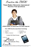 Practice the THEA: Texas Higher Education Assessment Practice Test Questions, Complete Test Preparation Inc., 1490315241