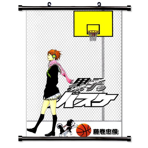 "Kuroko No Basket Anime Fabric Wall Scroll Poster (32"" x 48"") Inches. [WP]-Kuroko No Basket-5 (L)"