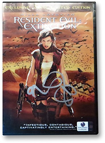 Milla Jovovich Signed Autographed DVD Cover Resident Evil: Extinction GV862981