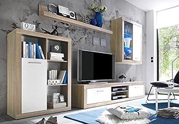 Illuminazione Soggiorno A Parete : Avanti trendstore mero parete da soggiorno laminato colore