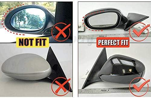 2010-2013 M3 look carbon fiber side mirror cover caps for BMW 3 series E90 E91 E92 E93 LCI