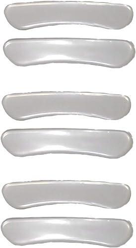 [ジージェイ] 靴擦れ防止 ジェルパッド ジェルタイプ くるぶし かかと すべり止め ソックス止め AC028 3組 6枚