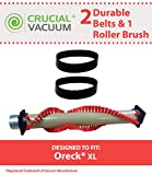 Highly Durable Brush Roller & 2 Belts for Oreck XL Vacuums; Compare to Part Nos. 030-0604, XL010-0604, 016-1152, 7520201; Designed & Engineered by Think Crucial