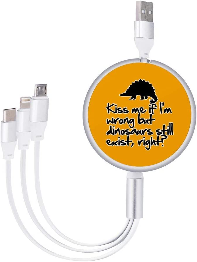 Circular Data Line Kiss Me If Im Wrong Beautiful and Multifunctional Mobile Phone Data Cable 5.65.62.2cm