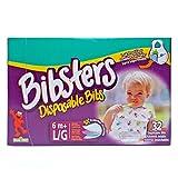 : Bibsters Large Disposable Bibs - Multi - Unisex - 32 ct