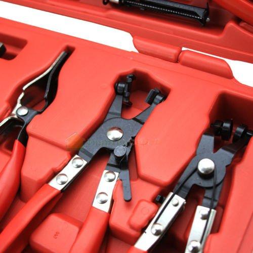 Rison® 7 Piece long reach flex Hose Clamp Pliers Assortment for Fuel Oil Water Hose