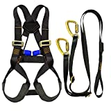 Fusion Climb Kids Backyard Zip Line Kit Harness Lanyard Bundle FK-K-HL-02