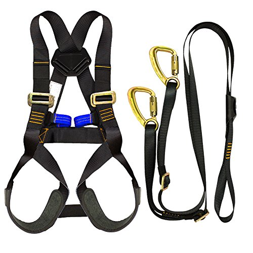 Fusion Climb Kids Backyard Zip Line Kit Harness Lanyard Bundle FK-K-HL-02 by Fusion Climb