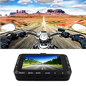 DZT1968 Motorcycle HD 170° 720P DVR Vehicle Camera Loop/Cycle Video Recorder Dash Cam Night Vision