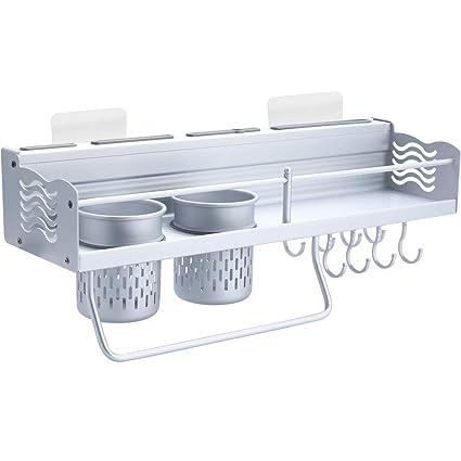 Joyfamy - Estantes de Cocina sin Perforaciones con 2 Soportes para Vasos 5a8465828538